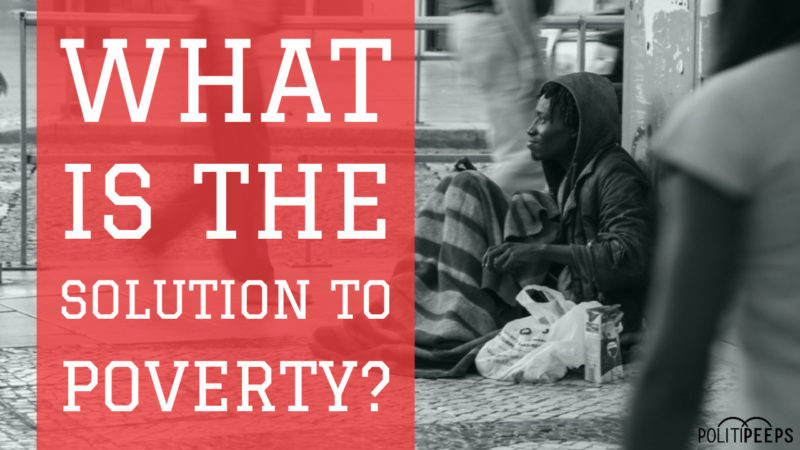 What is the Solution to Poverty? Larry Sharpe's Simple Answer