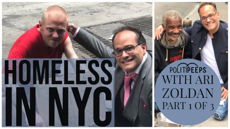 Homeless in NYC: Ari Zoldan's Mission to Raise Awareness, Part 1