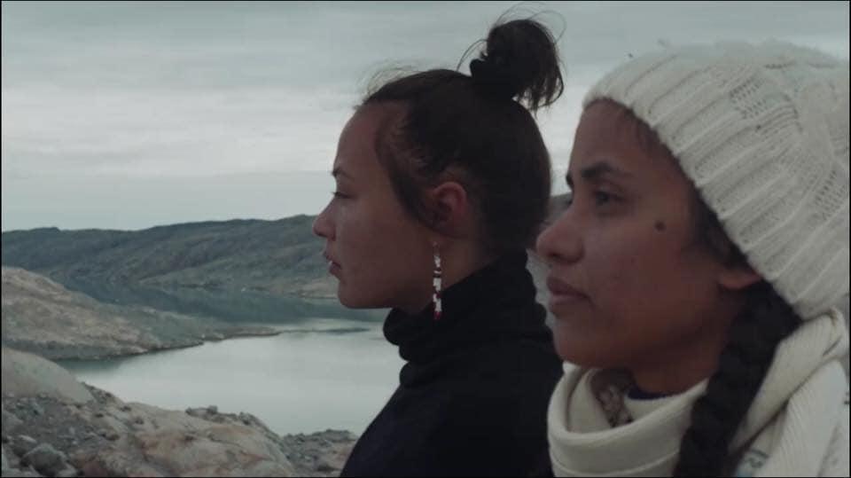 Aka Niviâna Mørch Pedersen and Kathy Jetn̄il-Kijiner, climate activists from Greenland