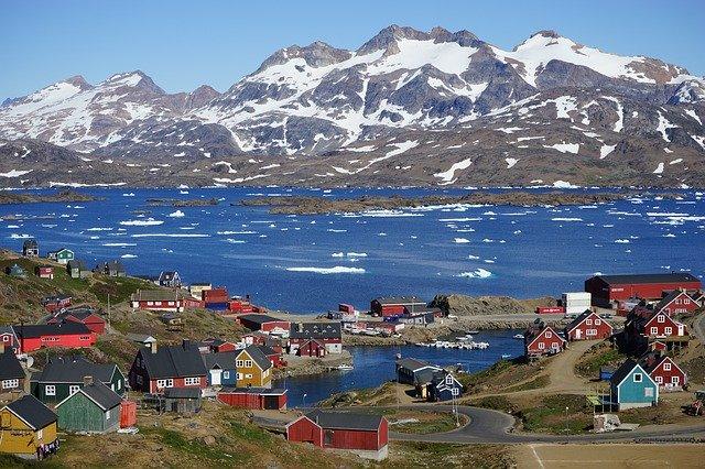 Tasiilaq, a Town in Greenland